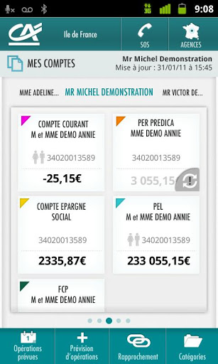 Application Android Crédit Agricole Vendée