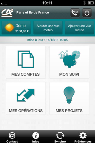 Application Iphone Crédit Agricole Vendée