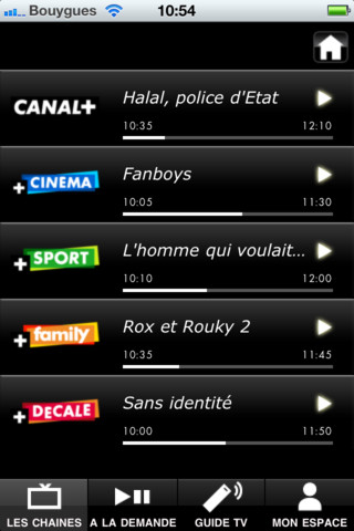 Nouvelle application CANALTOUCH pour Iphone et Android